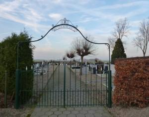begraafplaats Dussen (Collectie J. de Kok-Sanner)